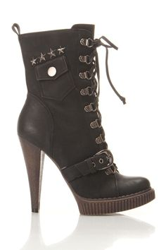 Megan Boots - - Love these, but couldn't wear them