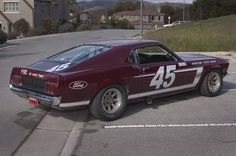 1969 Mustang Boss 302 Trans Am Race Car