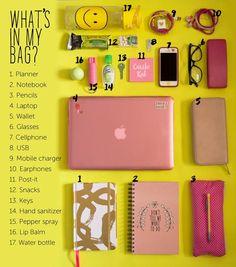 Die Dinge in meinem Rucksack: Anleitung vor dem Schulbesuch