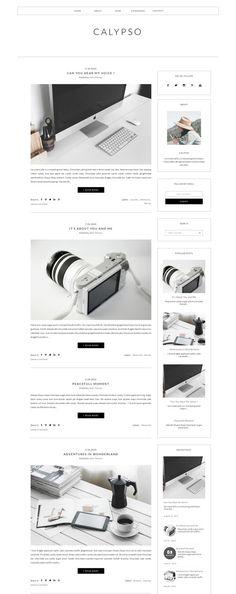 Blogger Template Responsive -CALYPSO @creativework247