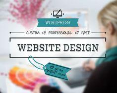 CUSTOM WEBSITE DESIGN Service: Website by TwingenuityGraphics