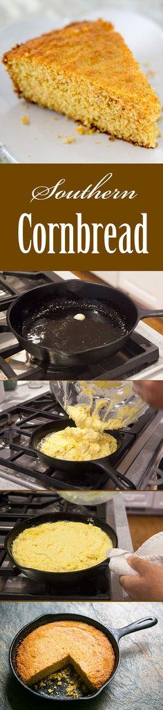 Southern Cornbread Recipe | SimplyRecipes.com