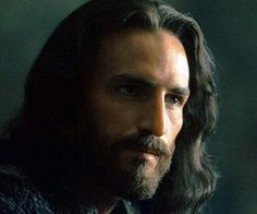 Jim Caviezel as Jesus Christ.