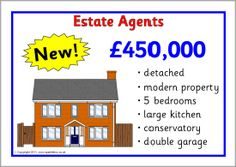 Estate agents role-play pack (SB589) - SparkleBox