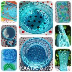 True blue, baby I love you... retro, plastic & decoratie!! Je vind het allemaal op www.kaatje-en-ko.com