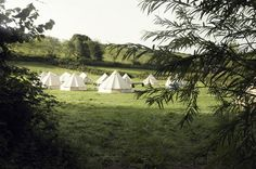 a Bell Tent wedding? how neat is that!