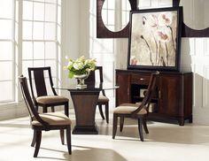 Boulevard Single Pedestal dining room