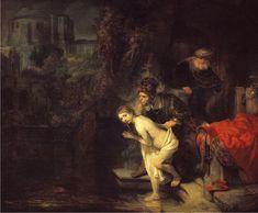 Susana y los viejos, de Rembrandt
