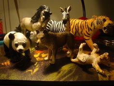Schleich animal figures