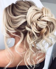 Best Wedding Hairstyles : Featured Hairstyle:Elstile;www.elstile.ru; Wedding hairstyle idea.