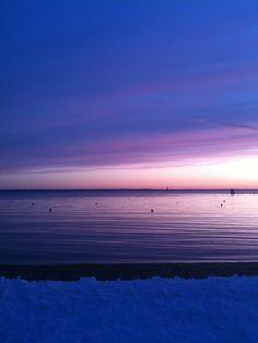 One of my childhood beaches. Baley Beach, Rowayton CT