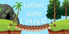 Schede didattiche sulle lettere ponte per la scuola primaria Quad, Montessori, Alphabet, Autism, Quad Bike