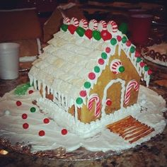 Gingerbread House Icing Recipe - Genius Kitchen