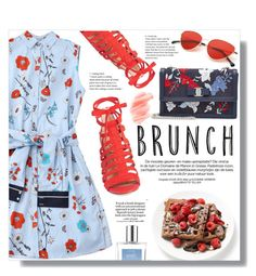 """""""Mother's Day Brunch Style"""" by yoo-q ❤ liked on Polyvore featuring Sam Edelman, Salvatore Ferragamo, Birchrose + Co., philosophy, Loewe, brunch, contestentry and brunchgoals"""