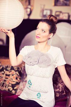 http://www.lesgouttelettes.com/  les gouttelettes, t-shirt, plissè, polka dots, cloud, nuvola, drop, goccia