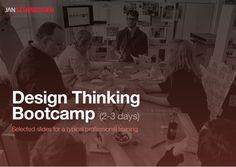 Design ThinkingBootcamp (2-3 days) - Melhores slides sobre DT que eu já ví.