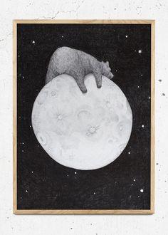 The Sleepy Moon Bear