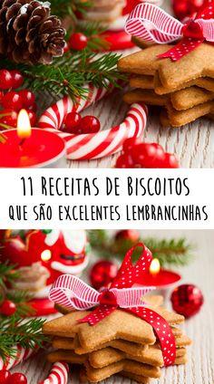 Natal: 11 receitas de biscoitos que são excelentes lembrancinhas Do tradicional cookie ao amanteigado, surpreenda quem você gosta com essas maravilhas!