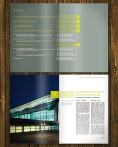El Corte Inglés | Annual Report by Leandro Marinelli, via Behance