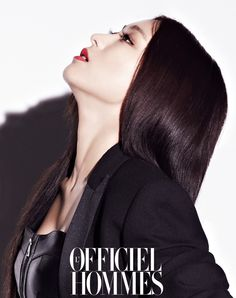 SISTAR's Bora L'Officiel Hommes Korea Magazine December 2013