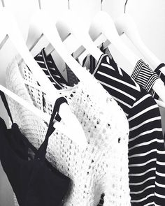 Black and White, preto e branco , fashion, moda, listras, stripes, crochet, top