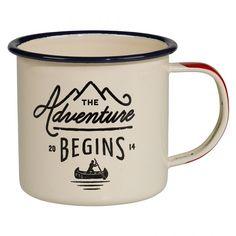 Gentlemen's Hardware Enamel Mug | Wild