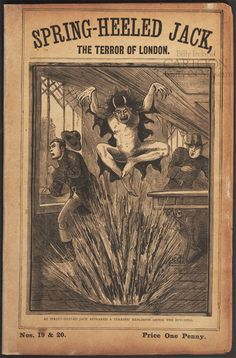 Found in the Collection: Spring-Heeled Jack! | Billy Ireland Cartoon Library & Museum Blog