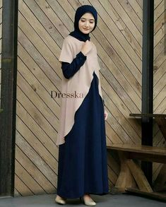 Abaya Fashion, Muslim Fashion, Fashion Outfits, Simple Dresses, Beautiful Dresses, Casual Dresses, Shift Dress Pattern, Dress Patterns, Muslim Long Dress
