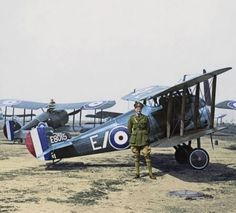 BRITISH SOPWITH CAMEL FIGHTERS