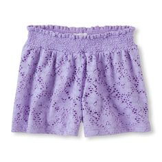 The Children's Place Toddler Girls Lace Shorts