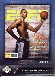 2005-06 Upper Deck ESPN the Magazine Covers #DH Dwight Howard by Upper Deck ESPN. $0.82. 2005 Upper Deck Co. trading card in near mint/mint condition, authenticated by Seller