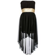 Black Sequin Waist Mixi Dress ($25) ❤ liked on Polyvore featuring dresses, vestidos, robes, black, sequin cocktail dresses, flower design dresses, flower print dress, botanical dress and chiffon dress