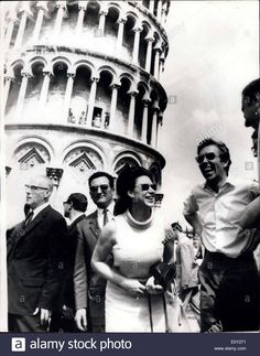 Aug. 12, 1968 - Princess Margaret in Pisa. Photo Shows: Princess Margaret and Lord Snowdon, who are on holiday in Tuscany