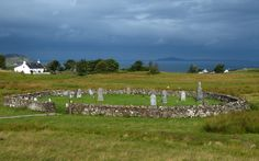 Walled cemetery at Kilmory, surrounded by old croftland (1) From: Kilchoan, please visit