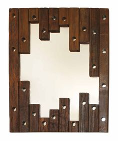 Moldura Cruzeta Vertical - 86x110 - decoracao rustica