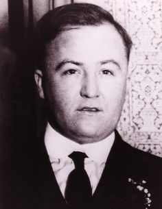Dion O'Banion ~ Charles Dean O'Banion was an Irish-American mobster who was the main rival of Johnny Torrio and Al Capone during the brutal Chicago bootlegging wars of the 1920s.