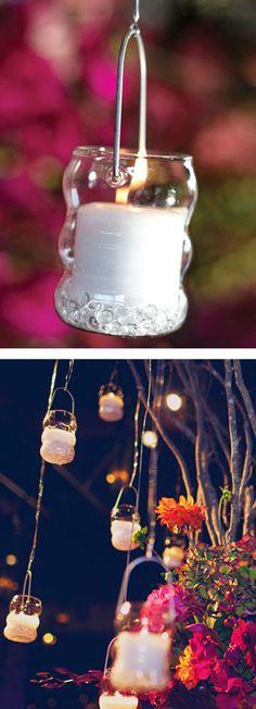 8-Pc. Ornamental Tea Light Holder Set | #wedding #outdoor #party