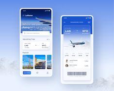 Flight Booking App on Behance Dashboard App, Dashboard Design, App Ui Design, Interface Design, App Login, User Interface, Design Design, Flight App, Adobe Photoshop