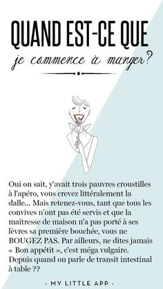 Petit cours de bonnes manières à table French Verbs, French Phrases, French Quotes, French Language Lessons, French Language Learning, French Lessons, High School French, French Class, Love French