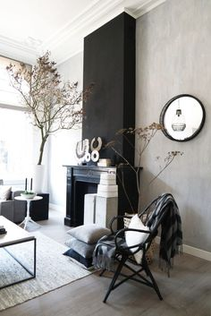 ideas for home renovation ideas room makeovers house Cheap Wall Decor, Cheap Home Decor, Living Room Inspiration, Home Decor Inspiration, Home Renovation, Home Remodeling, Decor Scandinavian, Dark Interiors, Home And Deco