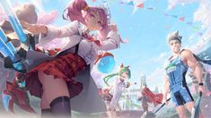 Anime Angel Girl, Unusual Art, Attack On Titan, Game Art, Avatar, Cool Art, Concept Art, Geek Stuff, Princess Zelda