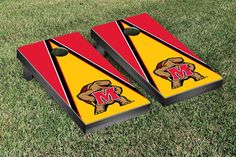 Victory Tailgate - University of Maryland Terrapins Cornhole Game Board, Various Patterns Available #Brand_Victory-Tailgate #Category_Cornhole-Boards #Style_University-of-Maryland