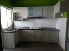Dapur rumah sederhana for Kabinet kitchen set