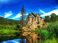 St Malo's Chapel, otherwise known as Chapel on the Rock, Allenspark near Estes Park