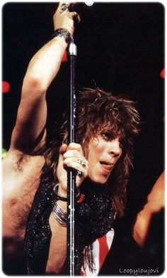 Jon Bon Jovi. Japan 1985. <3