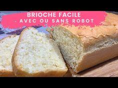 Brioche maison facile moelleuse avec ou sans robot 🍞 | + une astuce de cuisine! - YouTube Bread, Food, Brazilian Cuisine, Brioche Bread, Brot, Essen, Baking, Meals, Breads