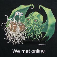 Flying Spaghetti Monster & Cthulhu T-Shirt