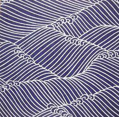 Perhaps a Sashiko design? Japanese Textiles, Japanese Patterns, Japanese Prints, Japanese Design, Japanese Art, Traditional Japanese, Japanese Style, Japanese Fabric, Surface Design