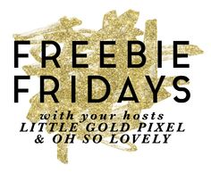 Freebie Fridays: Yeah Yeah Yeah Free Art Printable • Little Gold PixelLittle Gold Pixel