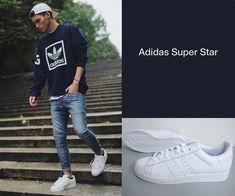 アディダス-スーパースター-コーデ Adidas Superstar, Dress Codes, Sneakers Fashion, Men's Fashion, Style, Men Fashion, Man Fashion, Fashion For Men, Male Fashion